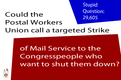 SQ Postal Strike