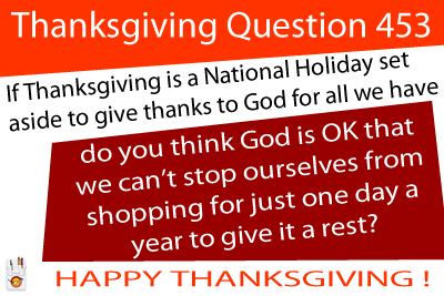 Thanksgiving Question 453