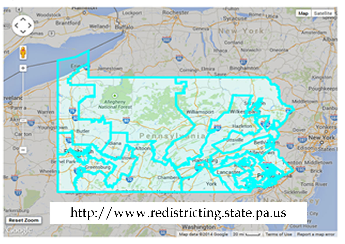 PA Redistrict Map
